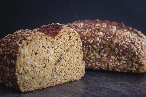 Vitalschrot Brot Nahaufnahme