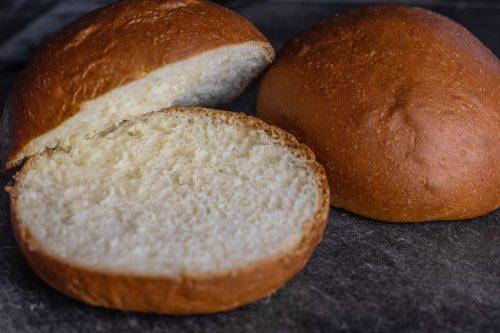 Hamburger Brötchen Nahaufnahme