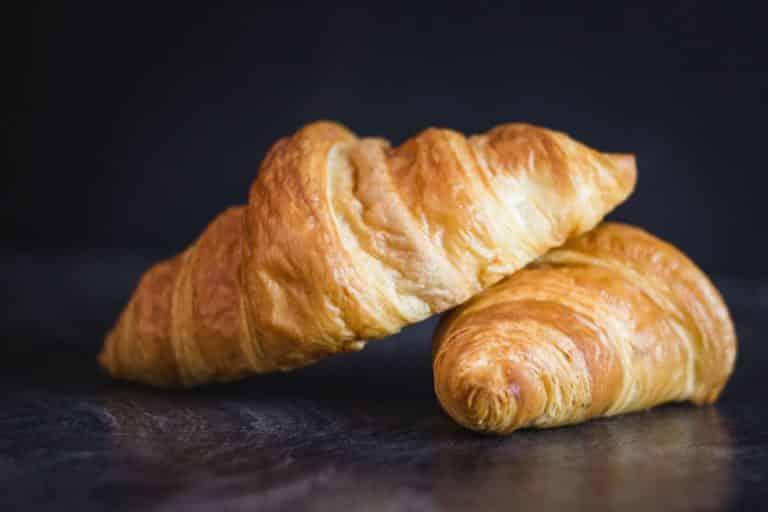 Croissant Nahaufnahme