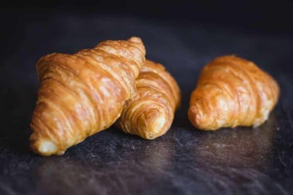 Mini-Croissants Nahaufnahme