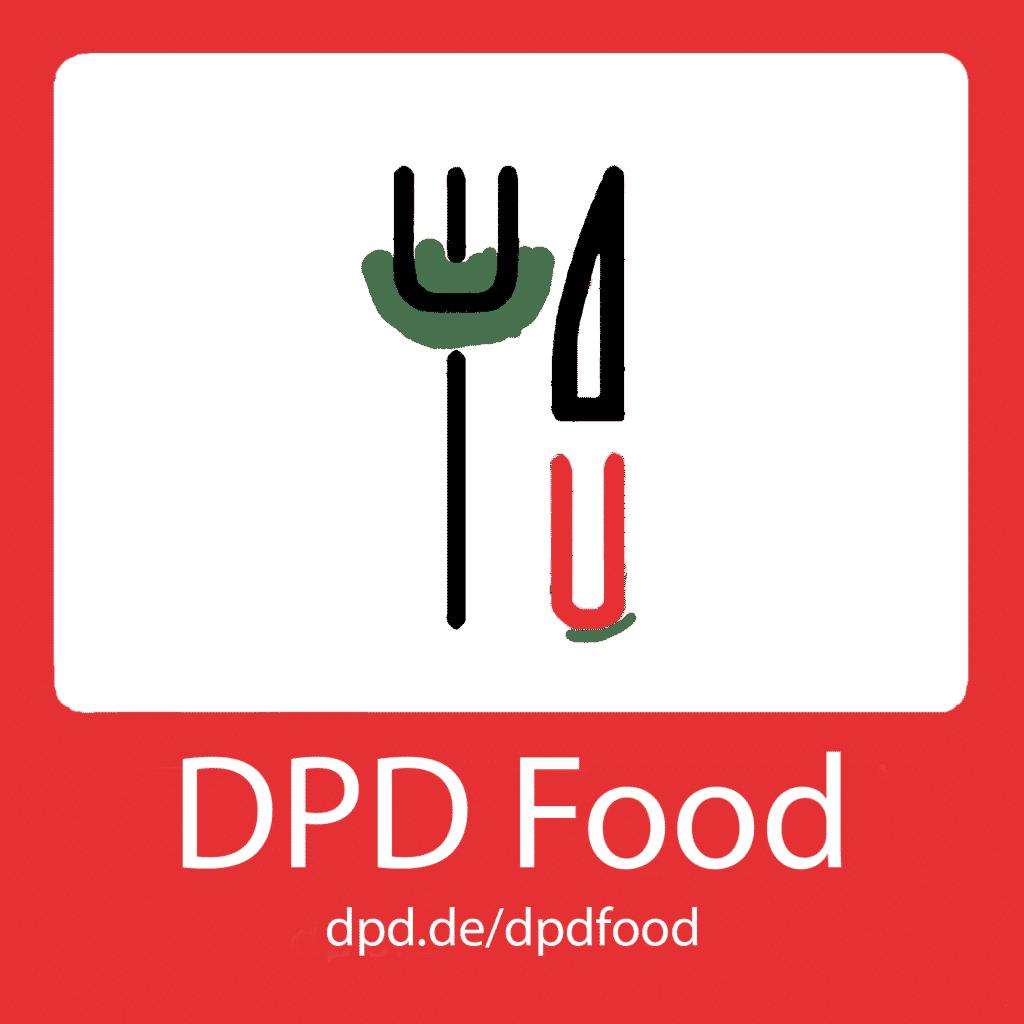 Kennzeichnung DPD Food-Versand